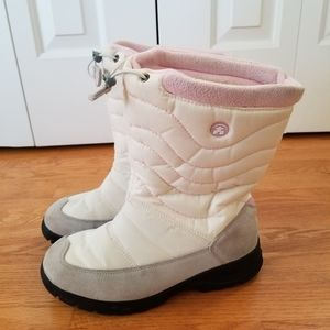 Kamik | Womens White and Pink Snow Boots